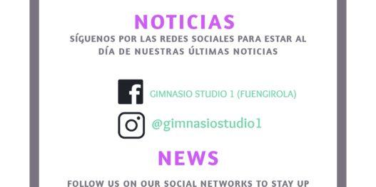 Noticias Gimnasio Studio 1 Fuengirola